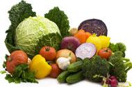 Свежие фрукты и овощи - незаменимый источник грубой клетчатки