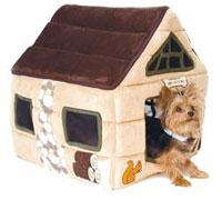 Мягкий домик для миниатюрных пород